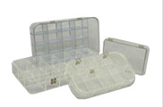 Plastic Compartmented Boxes & Organizer Inserts