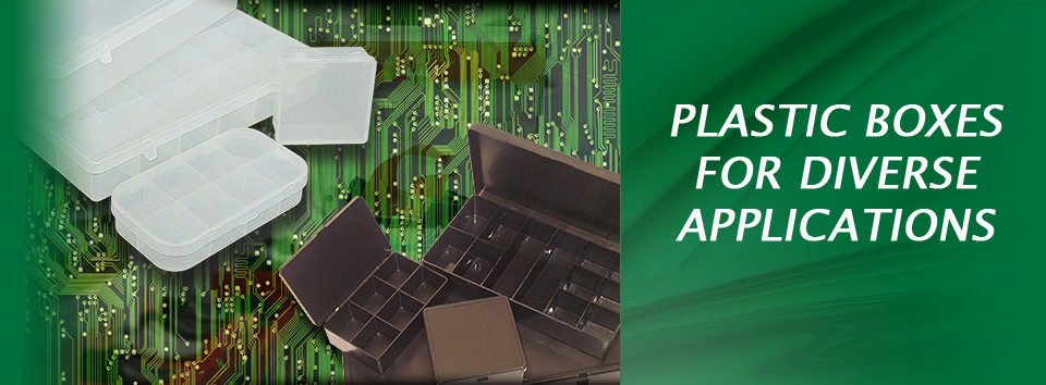 Plastic boxes for Diverse Applications